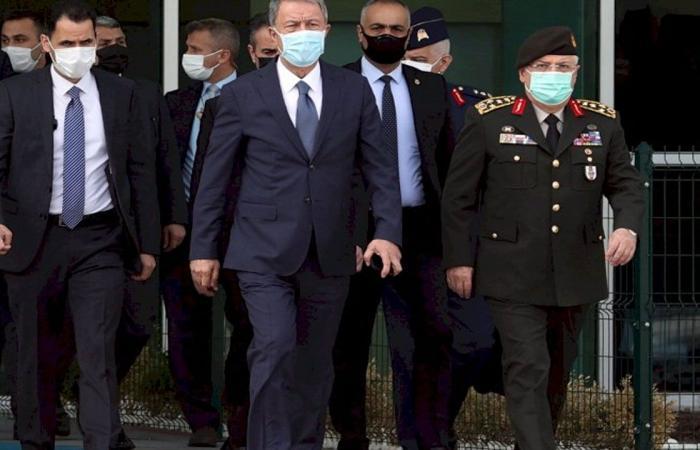 العراق يحتج على زيارة وزير دفاع أردوغان للمنطقة الشمالية «بدون إذن»