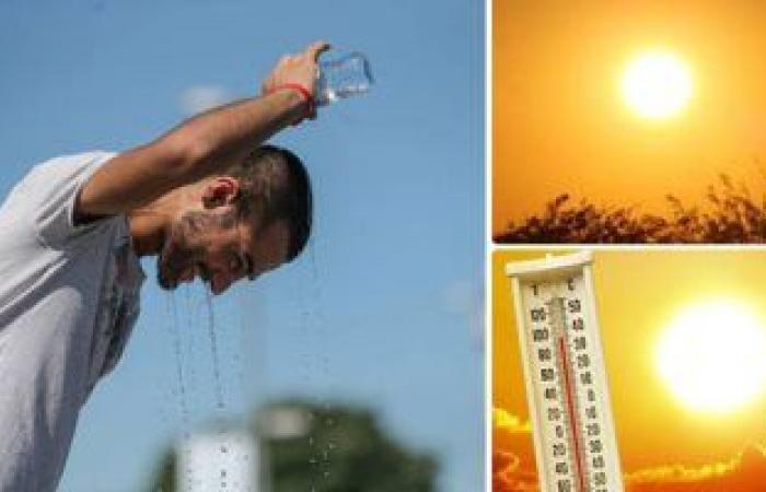 موجة شديدة الحرارة يعقبها انخفاض في الدرجات.. اعرف خريطة الجو حتى السبت