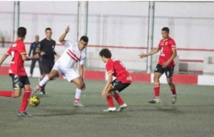 المقاولون وإنبي يتعادلان 2-2 في ختام دوري الجمهورية للناشئين 2006