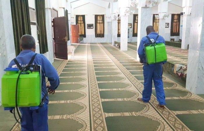 18 إصابة بكورونا تغلق 18 مسجداً في 5 مناطق