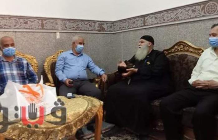صدقي يشارك كنيسة ديرب نجم الأعياد بالشرقية