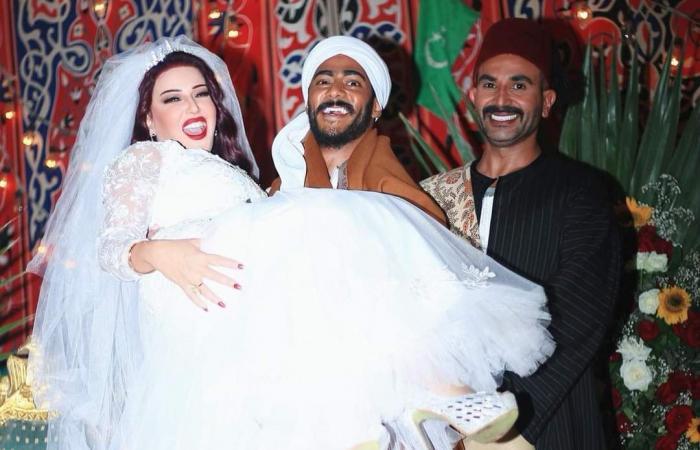 """أحمد سعد يرقص فى زفاف سمية الخشاب على محمد رمضان بمسلسل """"موسى"""".. صور"""