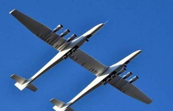 نجاح ثاني رحلة لأكبر طائرة في العالم