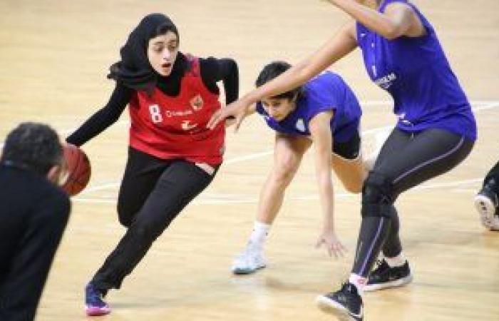 الاهلي يفوز على سبورتنج ويؤجل حسم بطل دوري سيدات السلة