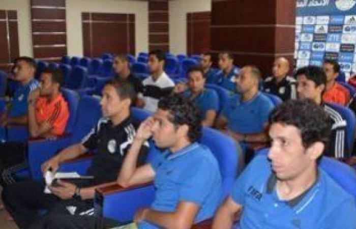 """الحكام يشكون خوض مباريات كأس مصر بدون """"سماعات"""""""