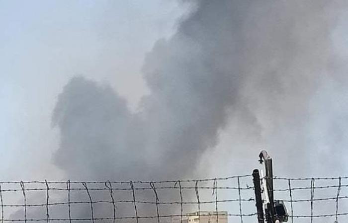 حريق داخل شركة النحاس المصرية بالإسكندرية