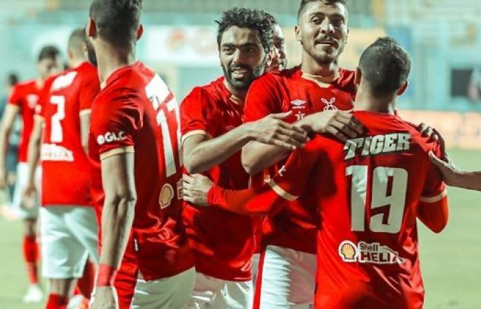 نجم الأهلي يقترب من الانفراد بصدارة هدافي الدوري المصري