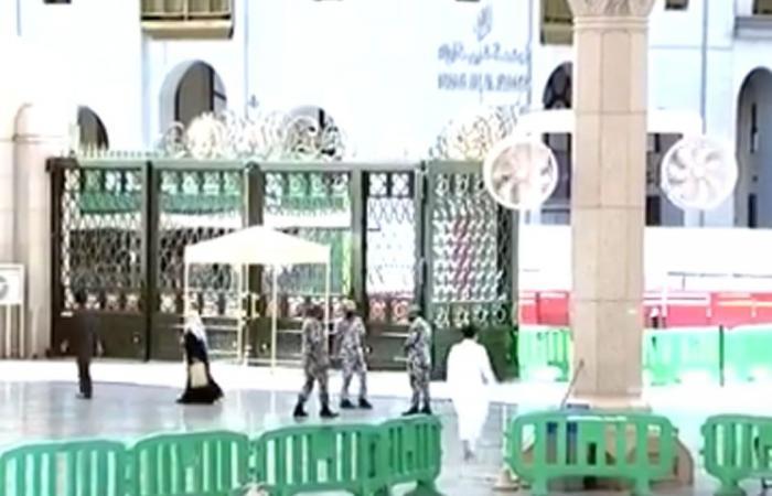 بالفيديو.. خطط تأمين زوار المسجد النبوي تتواصل.. وآلية لدخول المصلين