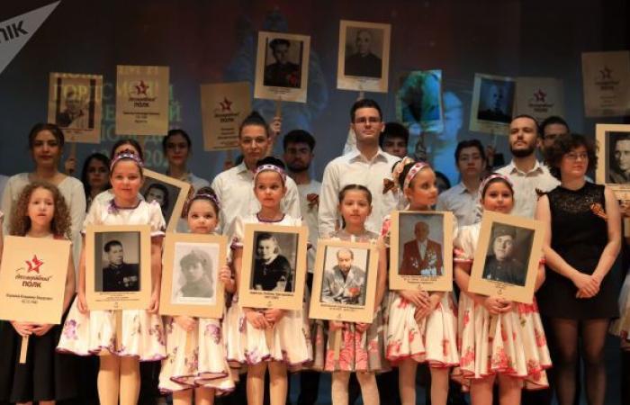 الجالية الروسية في دمشق تحتفل بالذكرى 76 للنصر على النازية... صور وفيديو