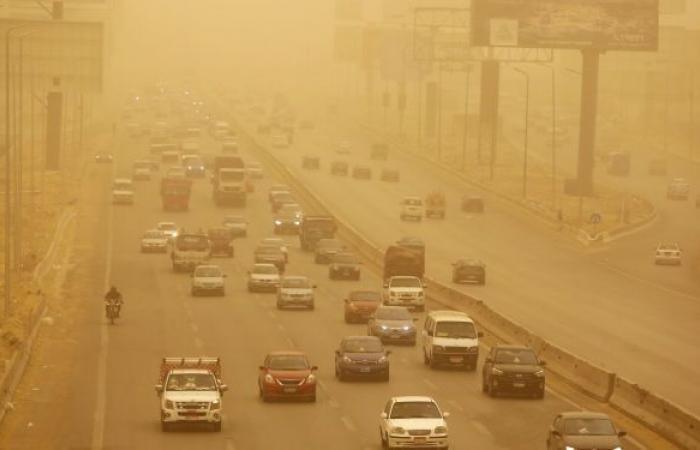 صور الأقمار الصناعية تكشف عن موجة حر شديدة تضرب مصر