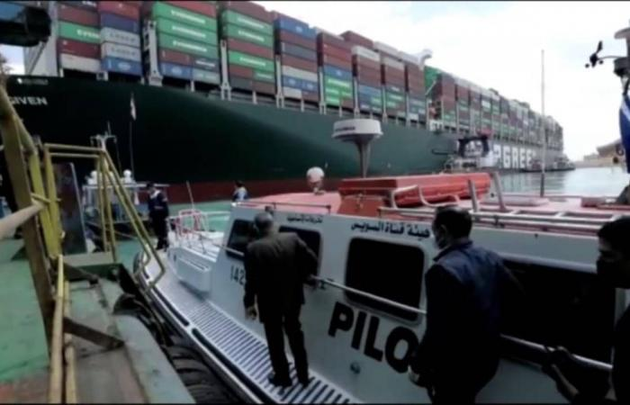 مصر.. أمر قضائي بالتحفظ على السفينة «إيفرجيفن» لصالح قناة السويس