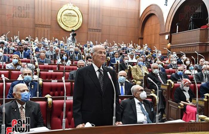 رئيس الشيوخ يرفع الجلسة العامة بعد الموافقة النهائية على قانون نقابة المهندسين