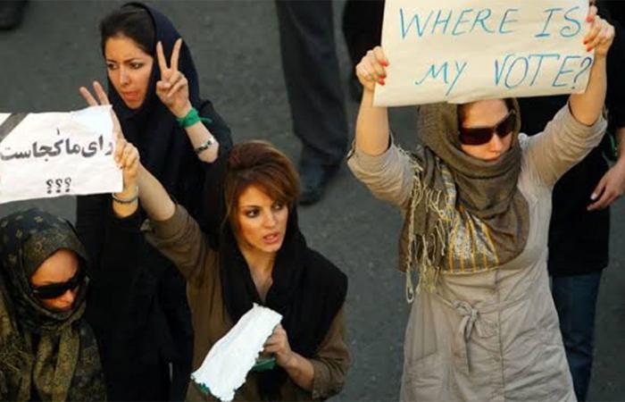ملف «المرأة الإيرانية» يفضح التناقض الأوروبي في دعم طهران