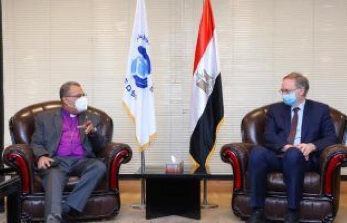 رئيس الكنيسة الإنجيلية يستقبل سفير الاتحاد الأوروبى بمصر