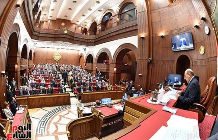 انطلاق الجلسة العامة لمجلس الشيوخ.. والتشديد على ارتداء الكمامة