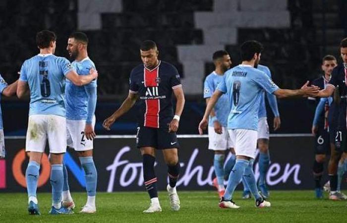 مانشستر سيتي ضد باريس سان جيرمان.. التشكيل المتوقع للفريقين