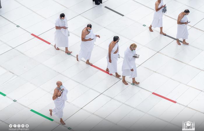 شؤون المسجد الحرام: تفويج 3 ملايين معتمر ومصلي منذ بداية شهر رمضان المبارك