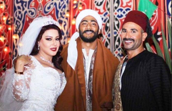 مفاجأة زفافها.. الخشاب تجمع الزوج بالطليق في لقطة واحدة