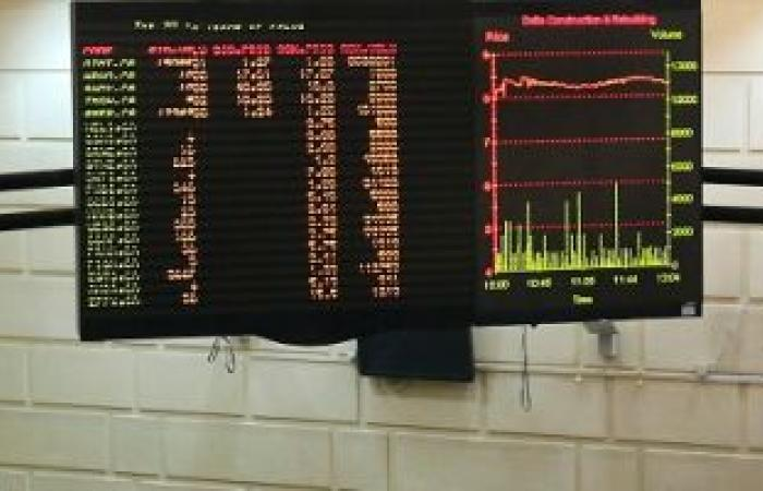 تراجع المؤشر الرئيسي للبورصة المصرية بمستهل تعاملات جلسة الثلاثاء