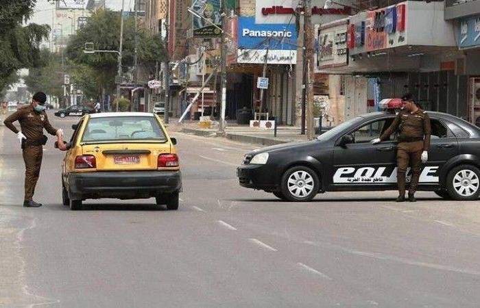 فرض منع التجول الشامل بسبب «كورونا» في العراق