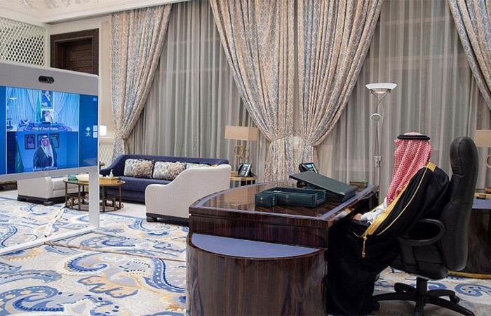 أمام خادم الحرمين.. وزير الاقتصاد يتعهد بالحفاظ على مصالح الدولة وأداء عمله بأمانة وصدق