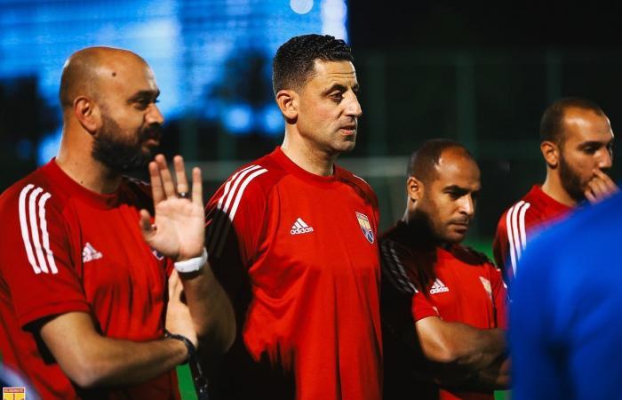 رسائل تحذيرية من رضا شحاتة للاعبى الجونة قبل مواجهة الإسماعيلى.. صور