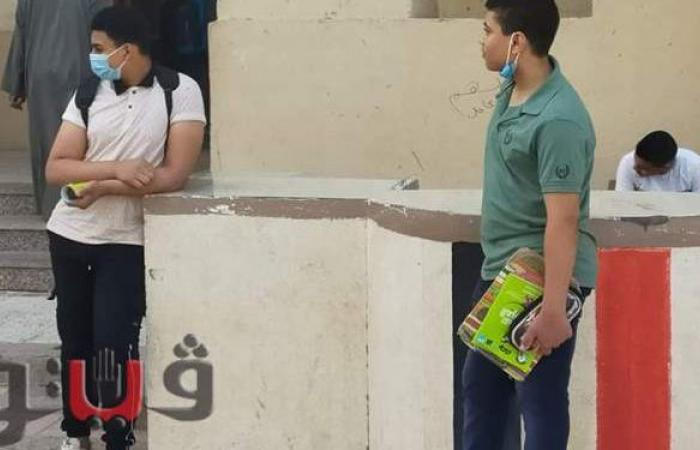 """طلاب الإعدادية بالشرقية: سؤال التعبير في امتحان العربي """"صعب""""   صور"""