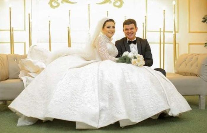 """عائلة """"البرماوي"""" تحتفل بزفاف """"عمرو وإسراء"""" في أجواء من البهجة والسعادة (صور)"""