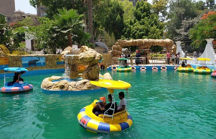 حديقة حيوان الجيزة تفاجئ الأطفال ببدالات نهرية بـ10 جنيهات فقط.. فيديو وصور