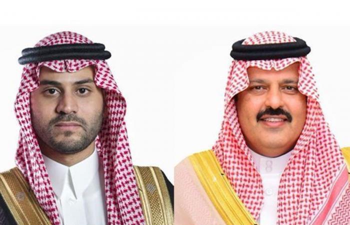 أمير حائل ونائبه يهنئان نادي الطائي بمناسبة صعوده للدوري السعودي للمحترفين
