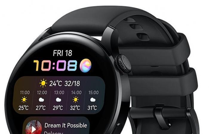 هواوي تعلن رسمياً عن ساعات Huawei Watch 3 وPro بنظام HarmonyOS