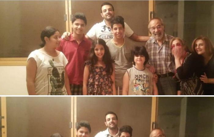 رانيا محمود ياسين تحيى ذكرى ميلاد والدها بصور عائلية