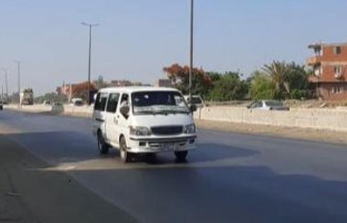 شاهد حركة المرور بطريق إسكندرية الزراعى صباح اليوم.. بث مباشر