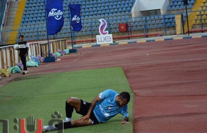 غزل المحلة يخسر جهود أحمد حسن في مباراة الاتحاد السكندري| صور