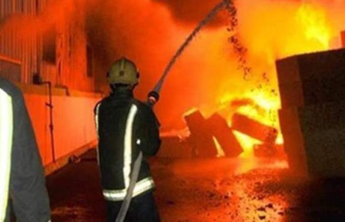النيابة تنتدب المعمل الجنائي لبيان سبب حريق مطعم بالمعادي