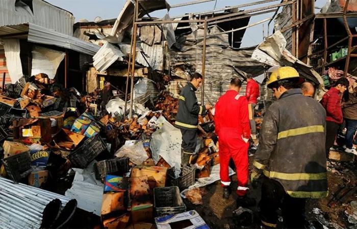 إصابة 15 شخصًا في انفجار بأحد أسواق مدينة الصدر العراقية