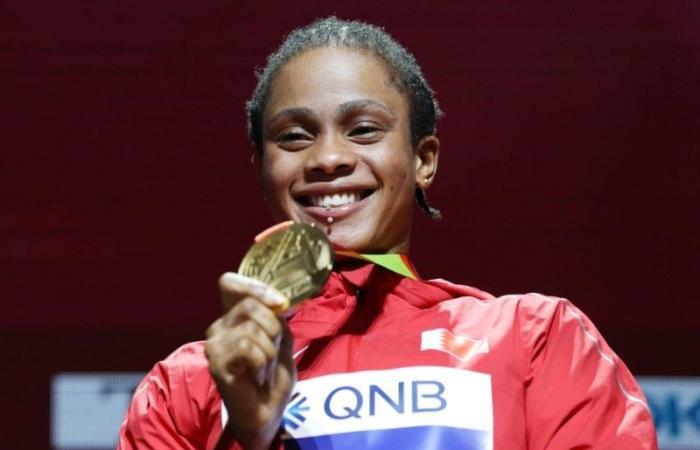 إيقاف البحرينية سلوى ناصر بطلة العالم في 400 متر لعامين