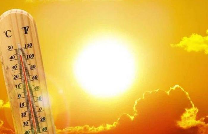 حالة الطقس ودرجات الحرارة المتوقعة اليوم الخميس 1 - 7 - 2021 في مصر