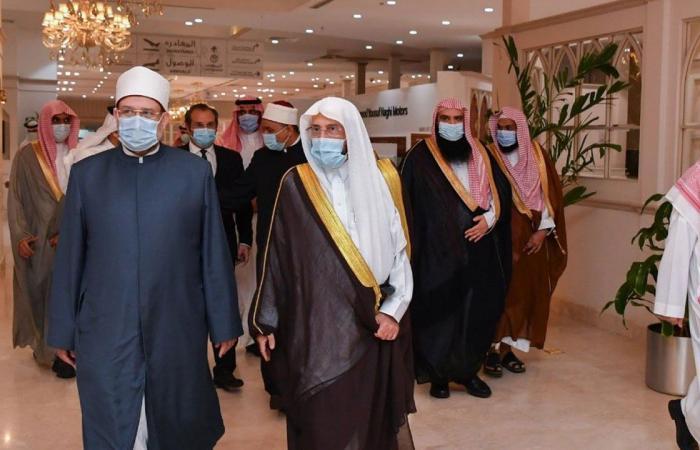 «آل الشيخ» يبحث التعاون مع وزير الأوقاف المصري
