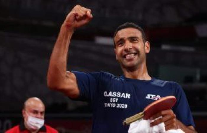 تنس الطاولة ضمن 13 لعبة مصرية ودعت الأولمبياد.. تعرف على أبرز النتائج
