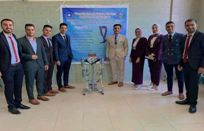 فريق مصري يصمم بدلة ربوتية تساعد أصحاب الهمم على الحركة