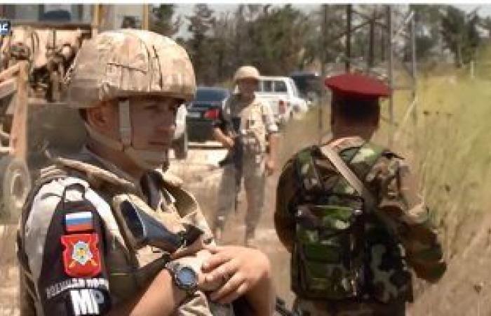 الشرطة العسكرية الروسية تؤمن عودة النازحين لقراهم فى محافظة حلب شمال سوريا