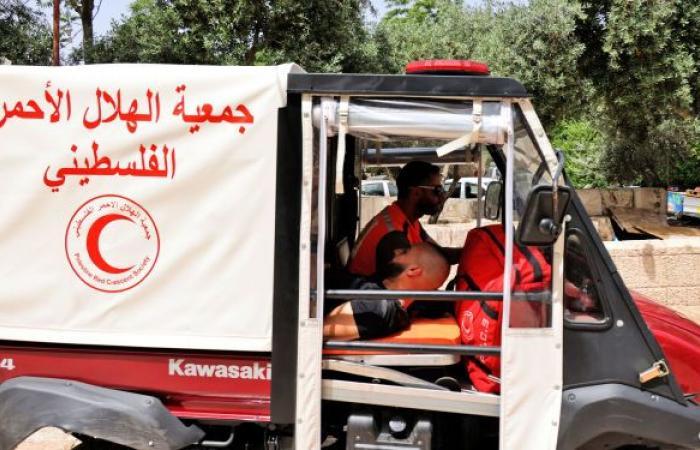 الهلال الأحمر يعلن إصابة 70 فلسطينيا إثر مواجهات مع الجيش الإسرائيلي شرق نابلس