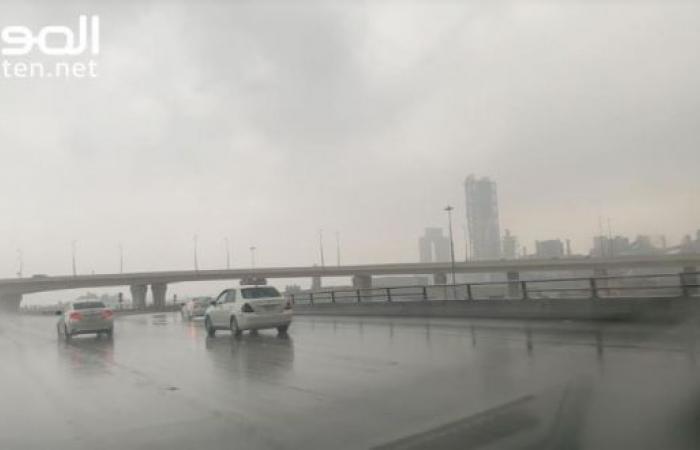 توقعات بأمطار رعدية بداية من يوم غد حتى الأربعاء المقبل