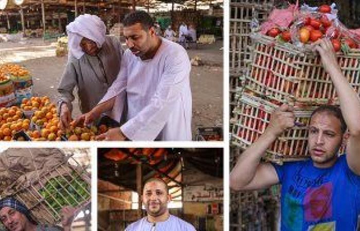 تعرف على أسعار الفاكهة فى سوق العبور للجملة اليوم الجمعة