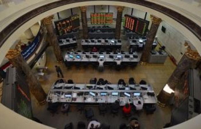 126.8 مليون جنيه صافى مشتريات العرب والأجانب بالبورصة المصرية