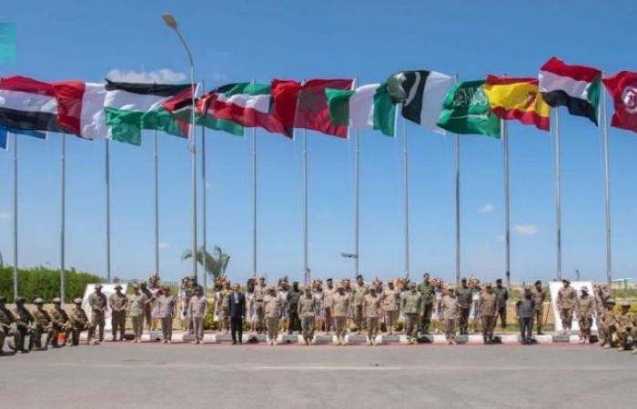 انطلاق مناورات النجم الساطع بمشاركة 21 دولة بينهم السعودية