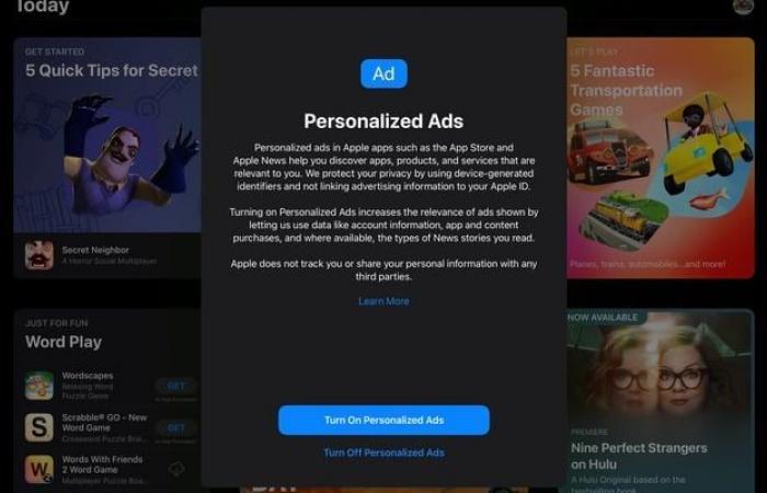 آبل تسألك قبل أن تستهدفك بإعلاناتها في iOS 15