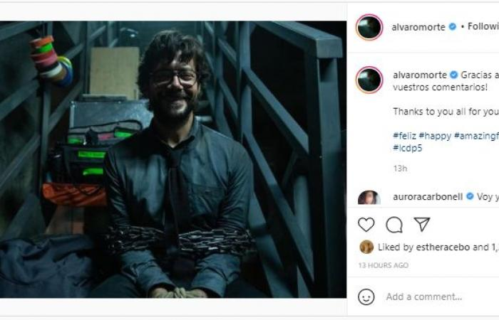 """البروفيسور """"مقيد"""" ودنفر """"حيران"""".. أول تعليق لأبطال La Casa De Papel على الموسم الجديد"""