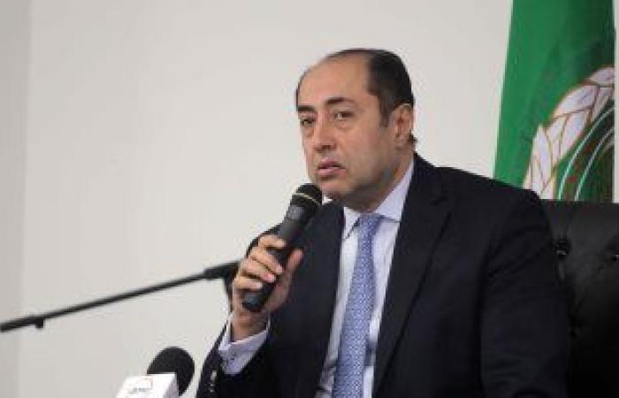 السفير حسام زكى خلال زيارته لموسكو: لمسنا دعم روسيا لمواقف الجامعة العربية